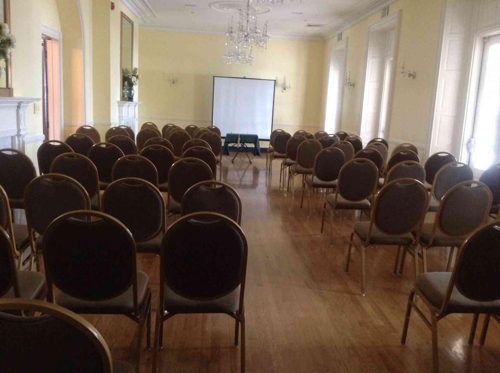 Ballroom - Theatre Style Setup